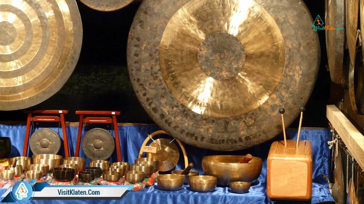 Alat Musik Tradisional Gong Gambang Siter Dan Celempung Visit Klaten